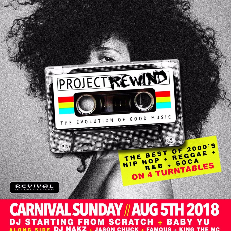 Project Rewind 2018 : Caribana Sunday
