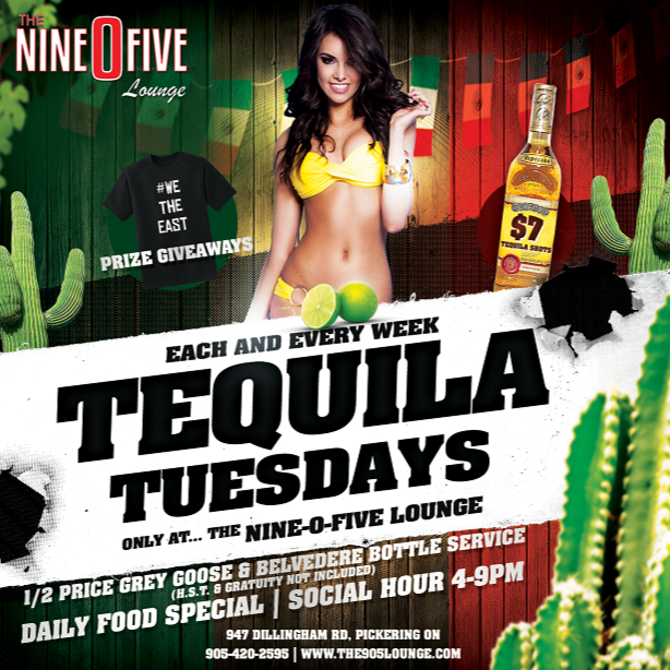 Tequila Tuesdays @ The 905