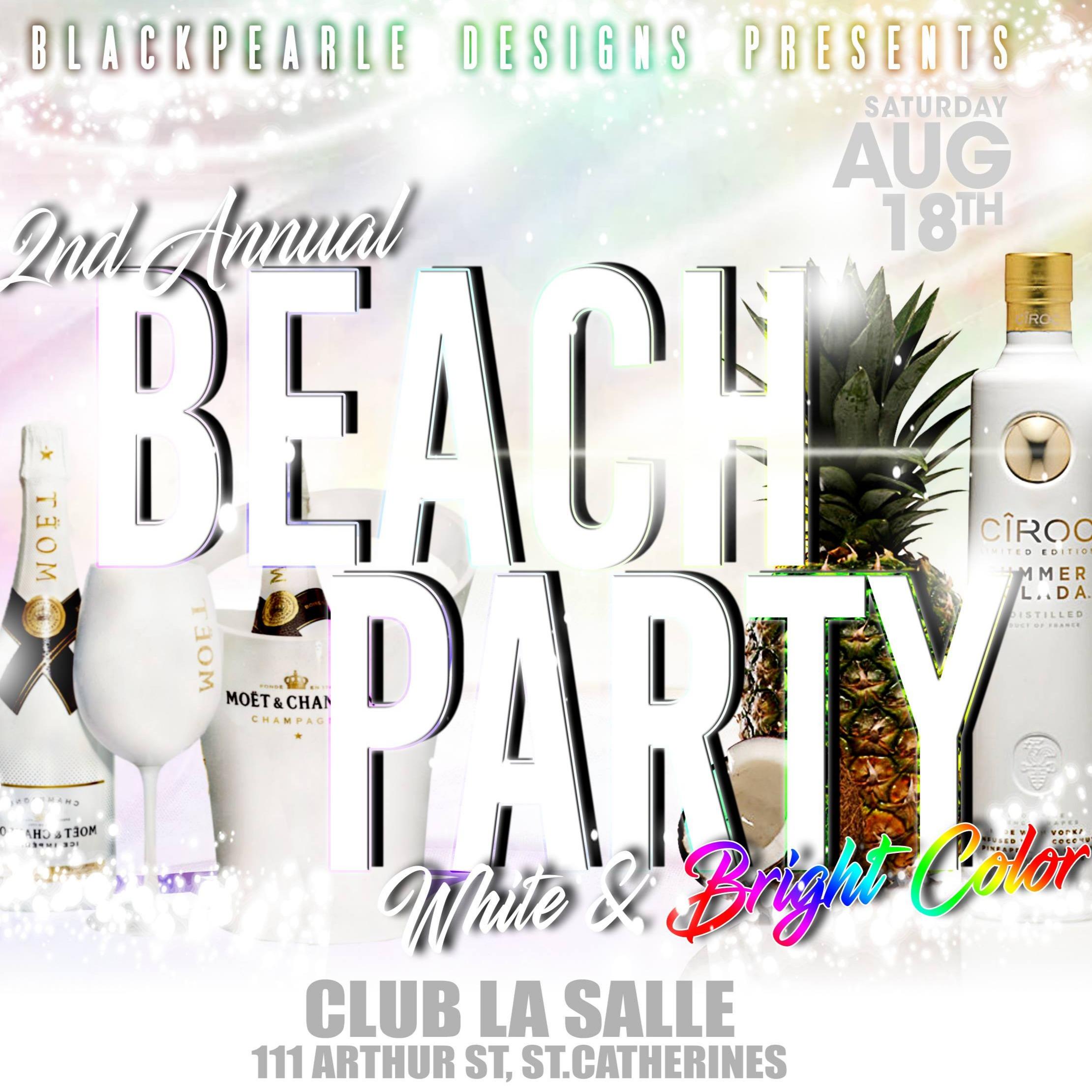 BlackPearle Beach Party