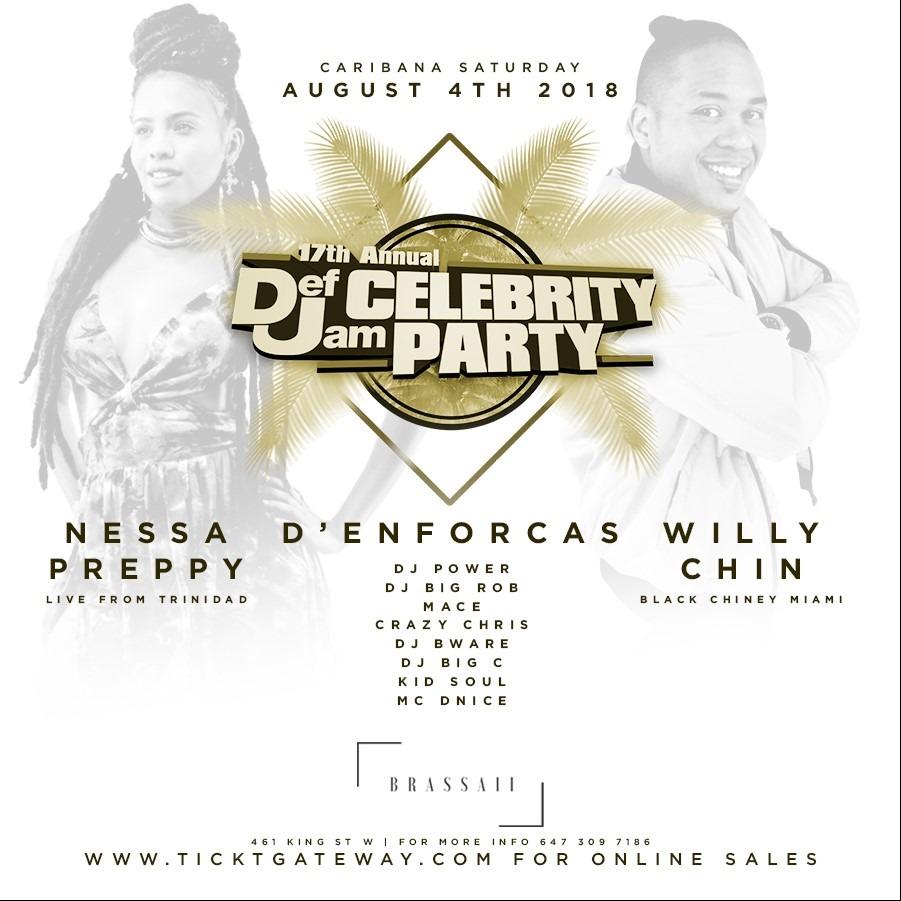 Caribana Def Jam Celebrity Party 2018