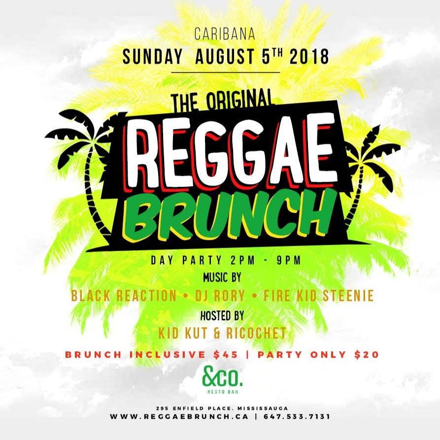 REGGAE BRUNCH - The Caribana Sunday Day Party