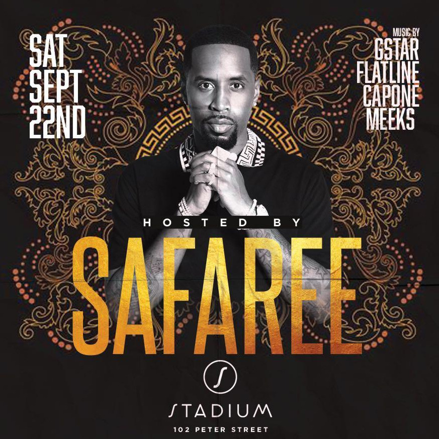 LOVE N HIP HOP STAR SAFAREE LIVE @ STADIUM NIGHTCLUB