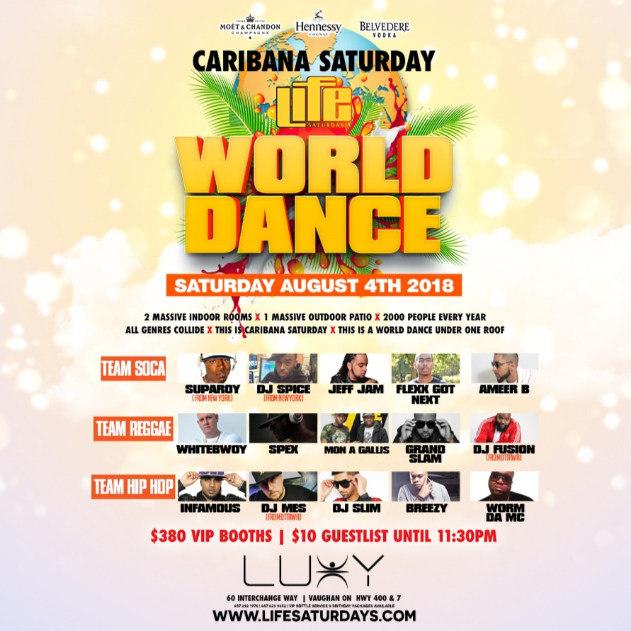 WORLD DANCE | Caribana Saturday