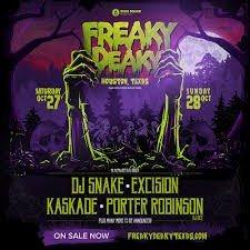 Freaky Deaky Houston Music Festival - 2 Day Pass