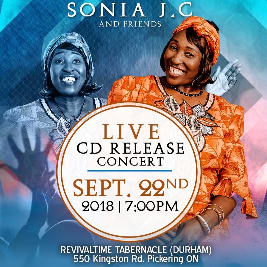 SONIA J. CONSTANTINE CD Release