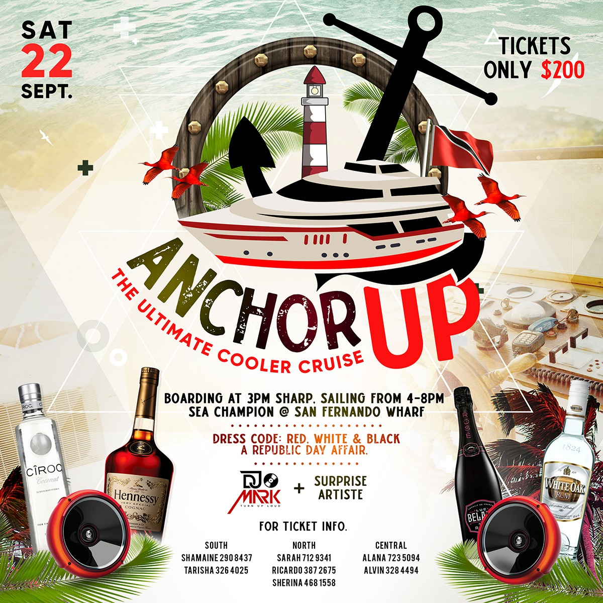 ANCHOR UP COOLER CRUISE