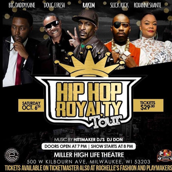 Hip Hop Royalty Tour: Rakim, Doug E. Fresh, Slick Rick, Big Daddy Kane