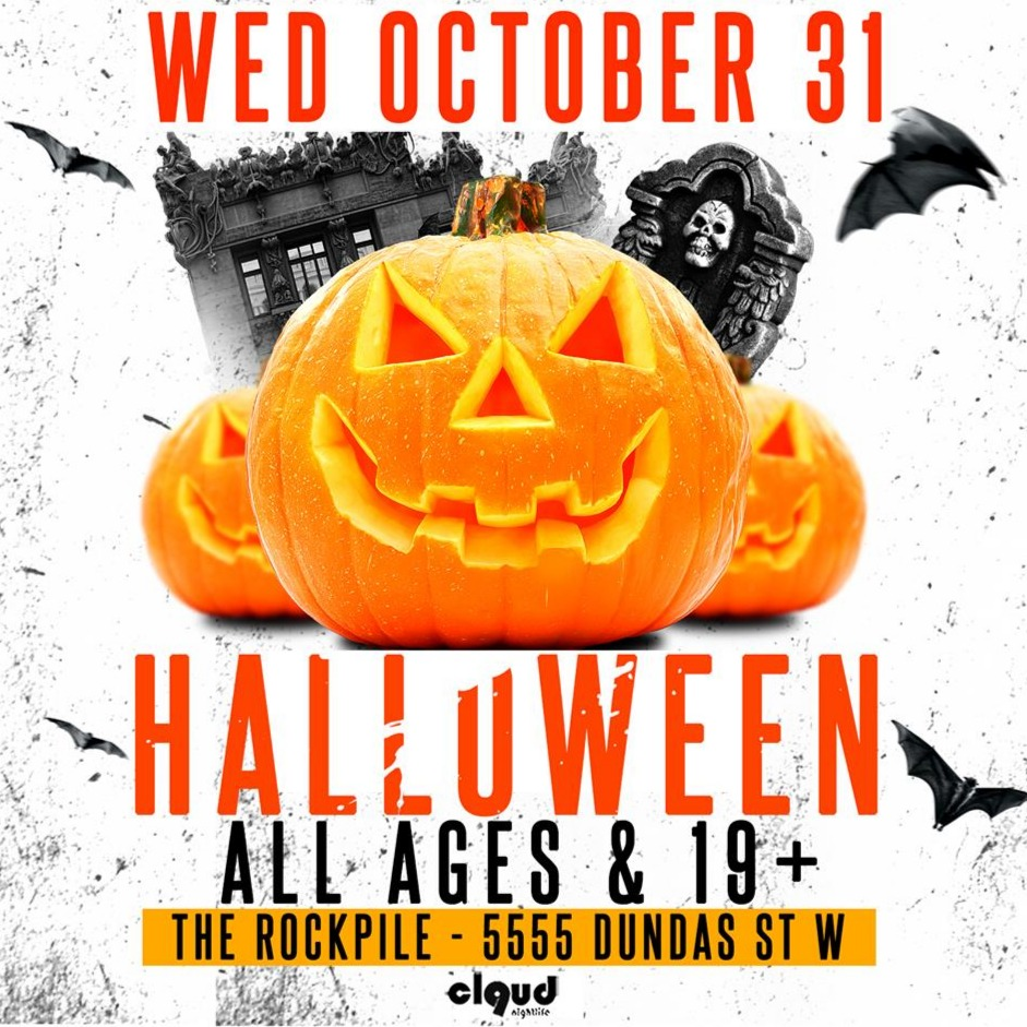 All Ages Halloween Party @ Rockpile // Wed Oct 31 | Biggest All Ages Party