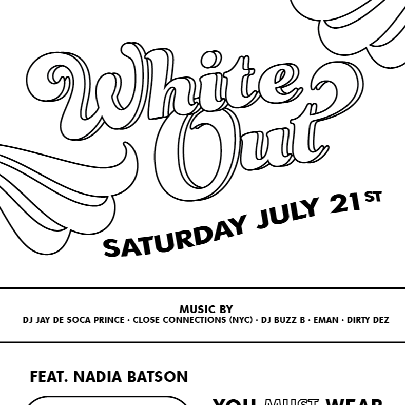 WHITE OUT | Ft. Nadia Batson