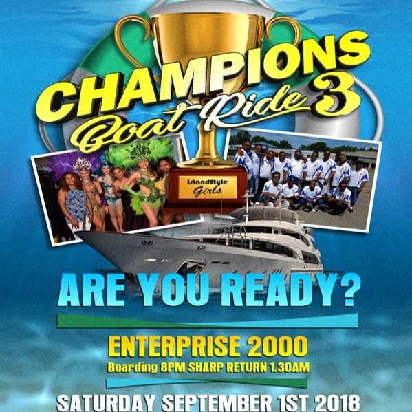 CHAMPIONS BOAT RIDE 3 !! ARE YOU READY !!