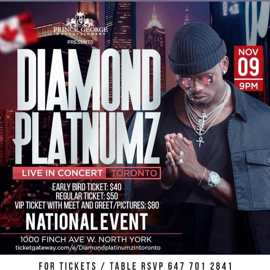 Diamond Platnumz Live In Concert Toronto