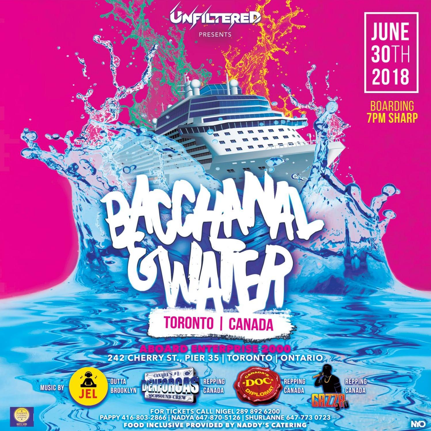 BACCHANAL & WATER