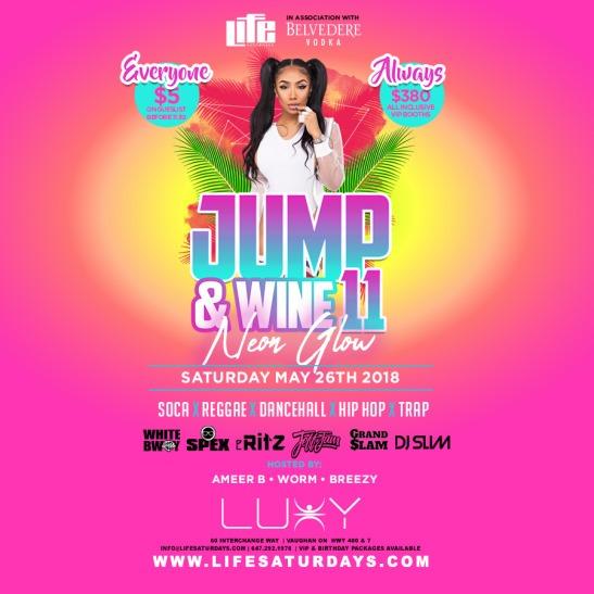 Life Saturday's - JUMP & WINE 11