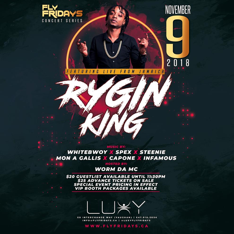 Rygin King LUXY NIGHTCLUB