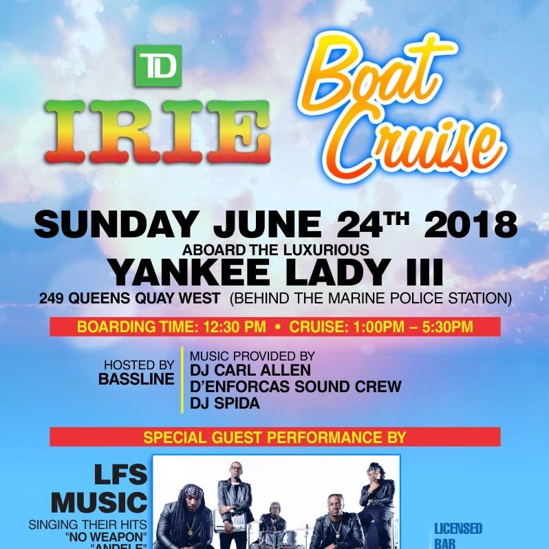 Irie Boat Cruise 2018