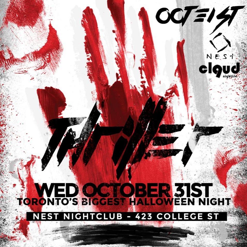 THRILLER @ Nest // Wed Oct 31st | BIGGEST HALLOWEEN NIGHT IN THE CITY!