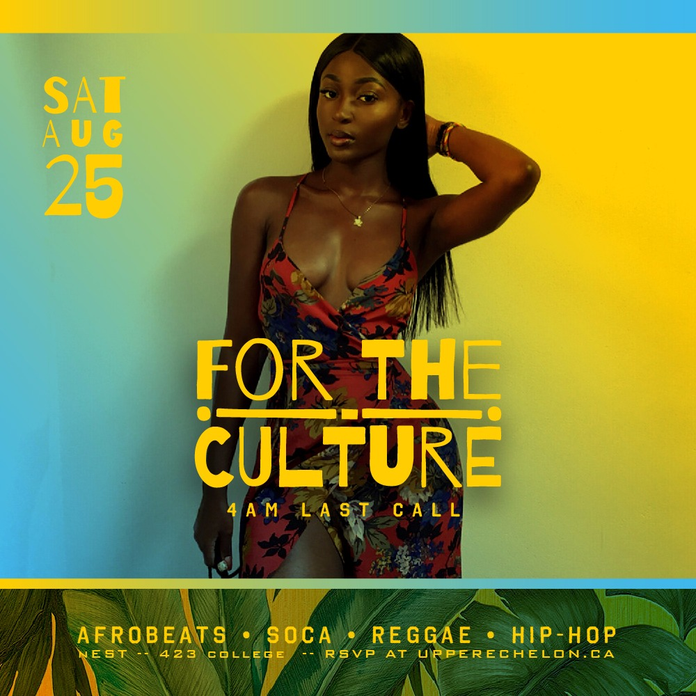 FOR THE CULTURE   4AM Last Call + Free with RSVP
