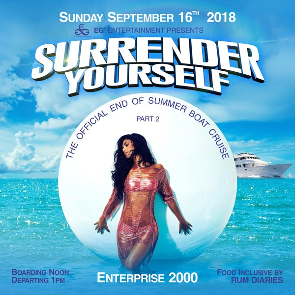 SURRENDER YOURSELF \ THE OFFICIAL END OF SUMMER BOAT CRUISE PART2