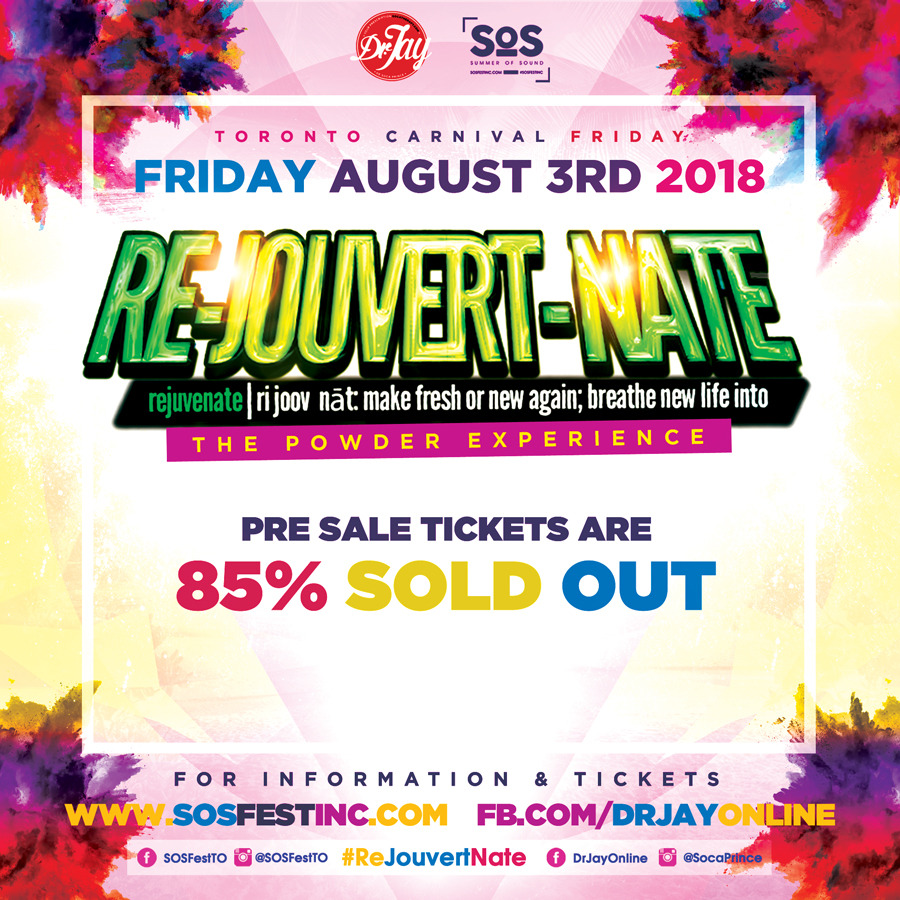 REJOUVERTNATE 2018 | Toronto Carnival Friday