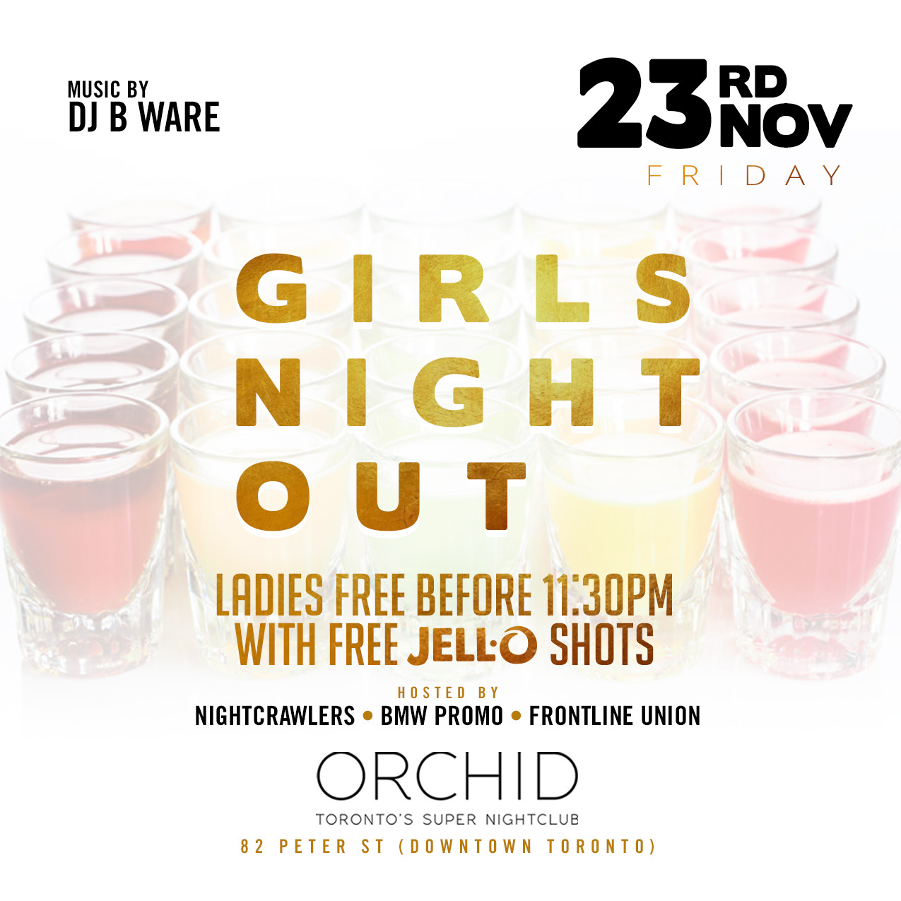 GIRLS NIGHT OUT : FRIDAY