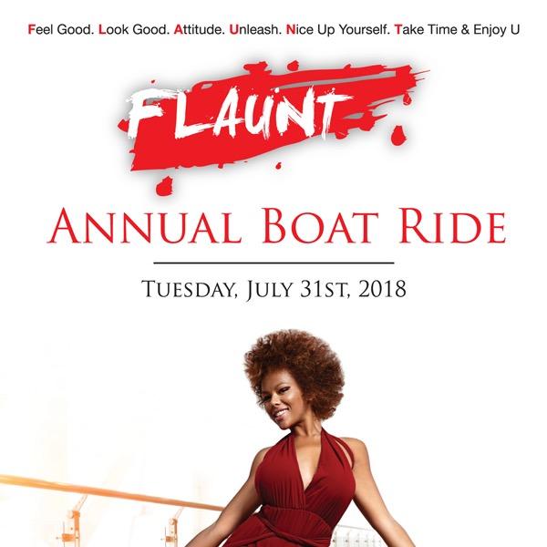 FLAUNT Annual Boatride 2018