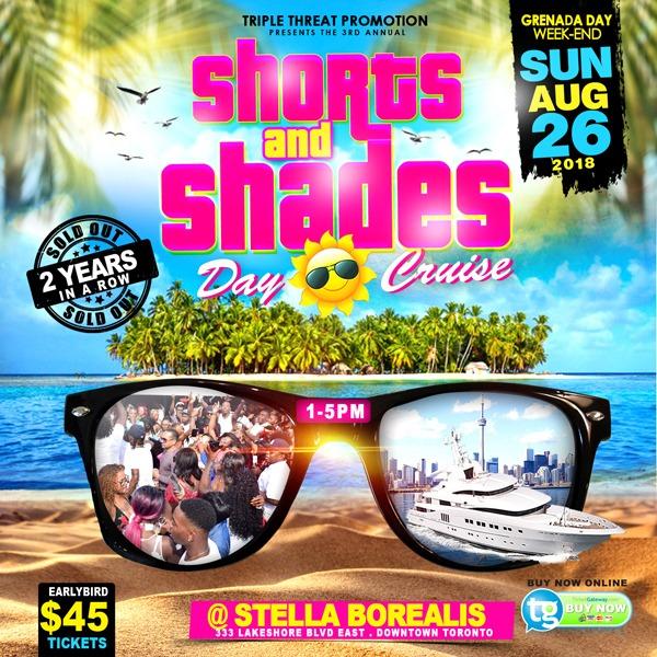 Shorts and Shades Day Cruise 2018