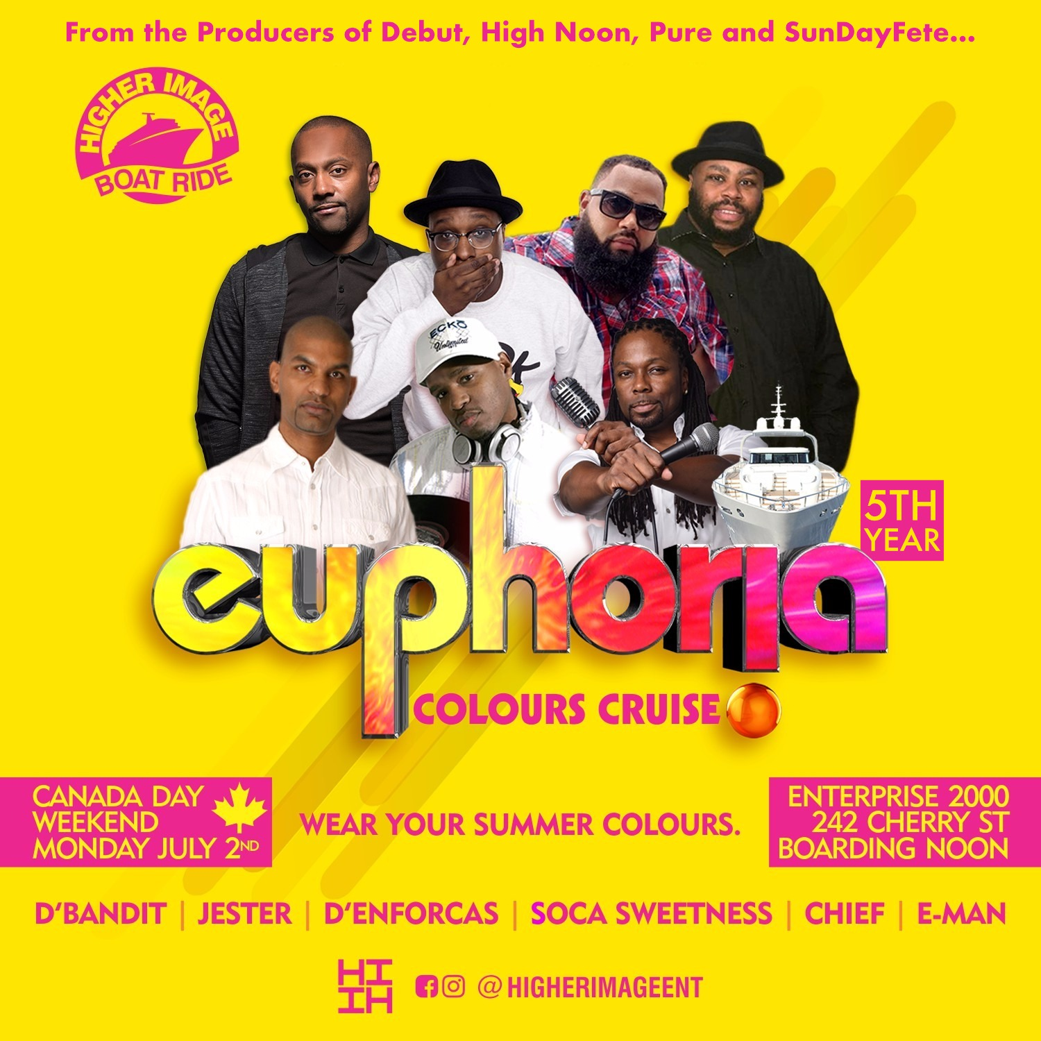 Euphoria Colours Cruise 2018