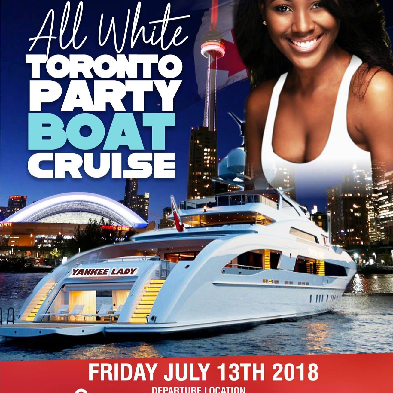 ALL WHITE TORONTO PARTY BOAT CRUISE