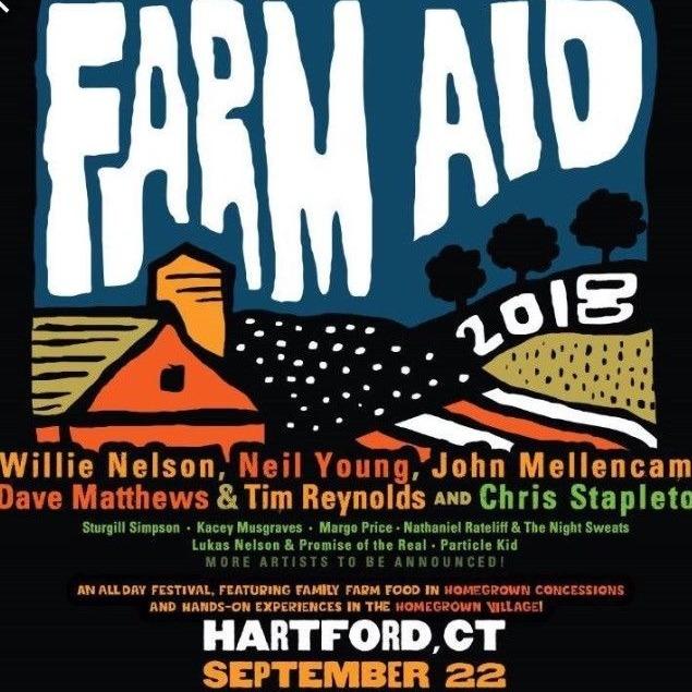 Farm Aid 2018: Willie Nelson, Neil Young, John Mellencamp & Dave Matthews