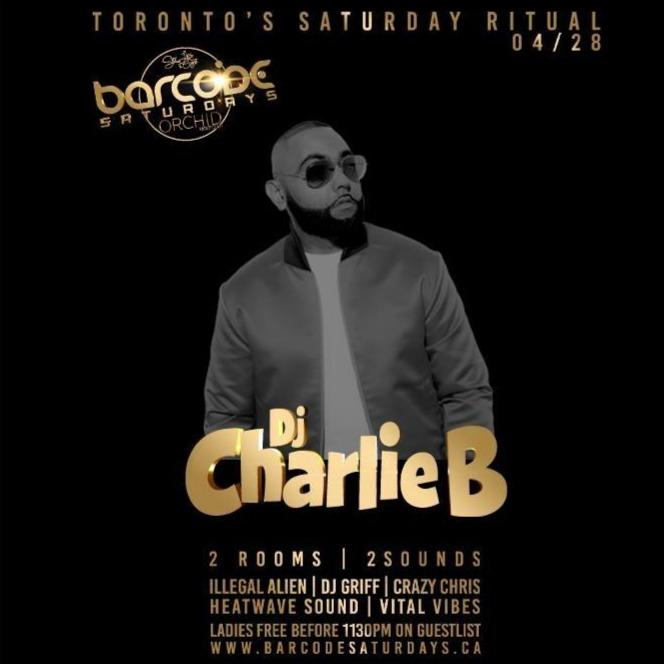 Barcode Saturdays Ft DJ CHARLIE B