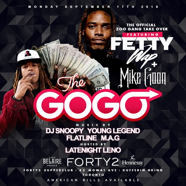 Fetty Wap Live at The GOGO ZooGang Takeover
