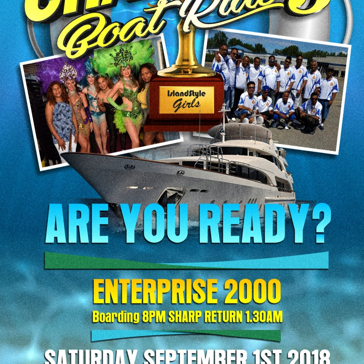 BOAT RIDE CHAMPIONS 3 ARE YOU READY?
