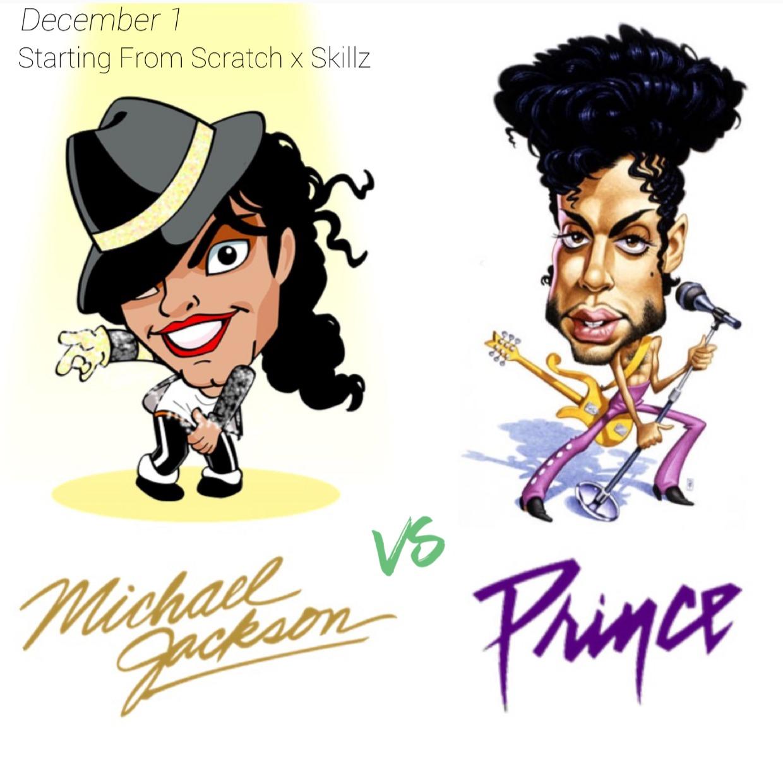 MICHAEL JACKSON vs PRINCE