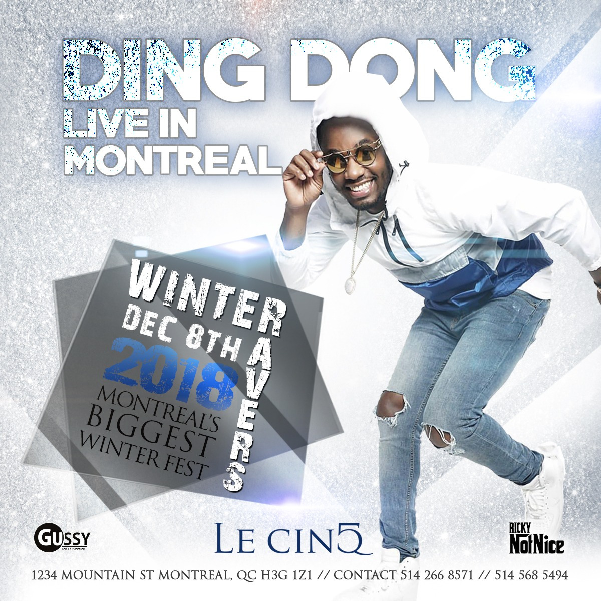 DING DONG LIVE IN MONTREAL