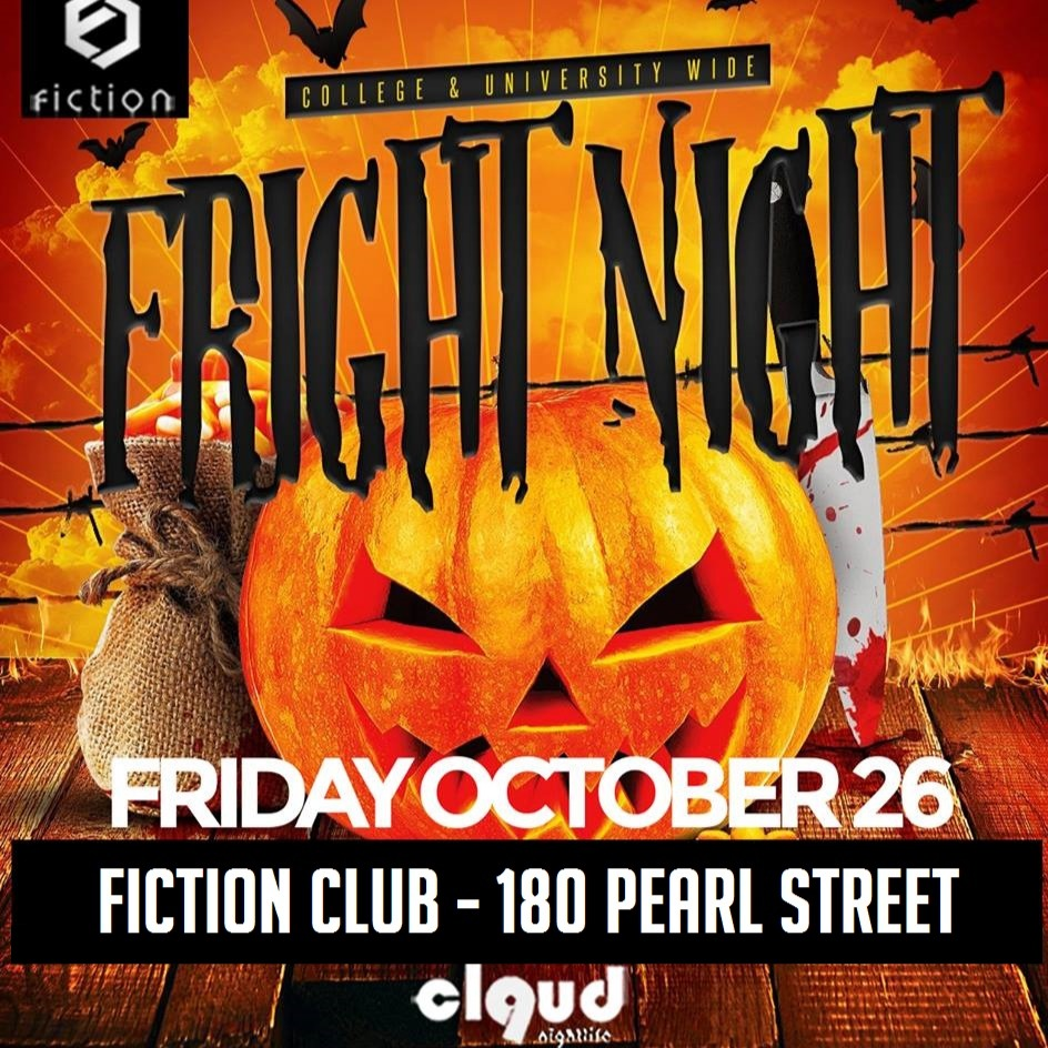 Fright Night 2018 @ Fiction // Fri Oct 26 | Toronto's Halloween Party