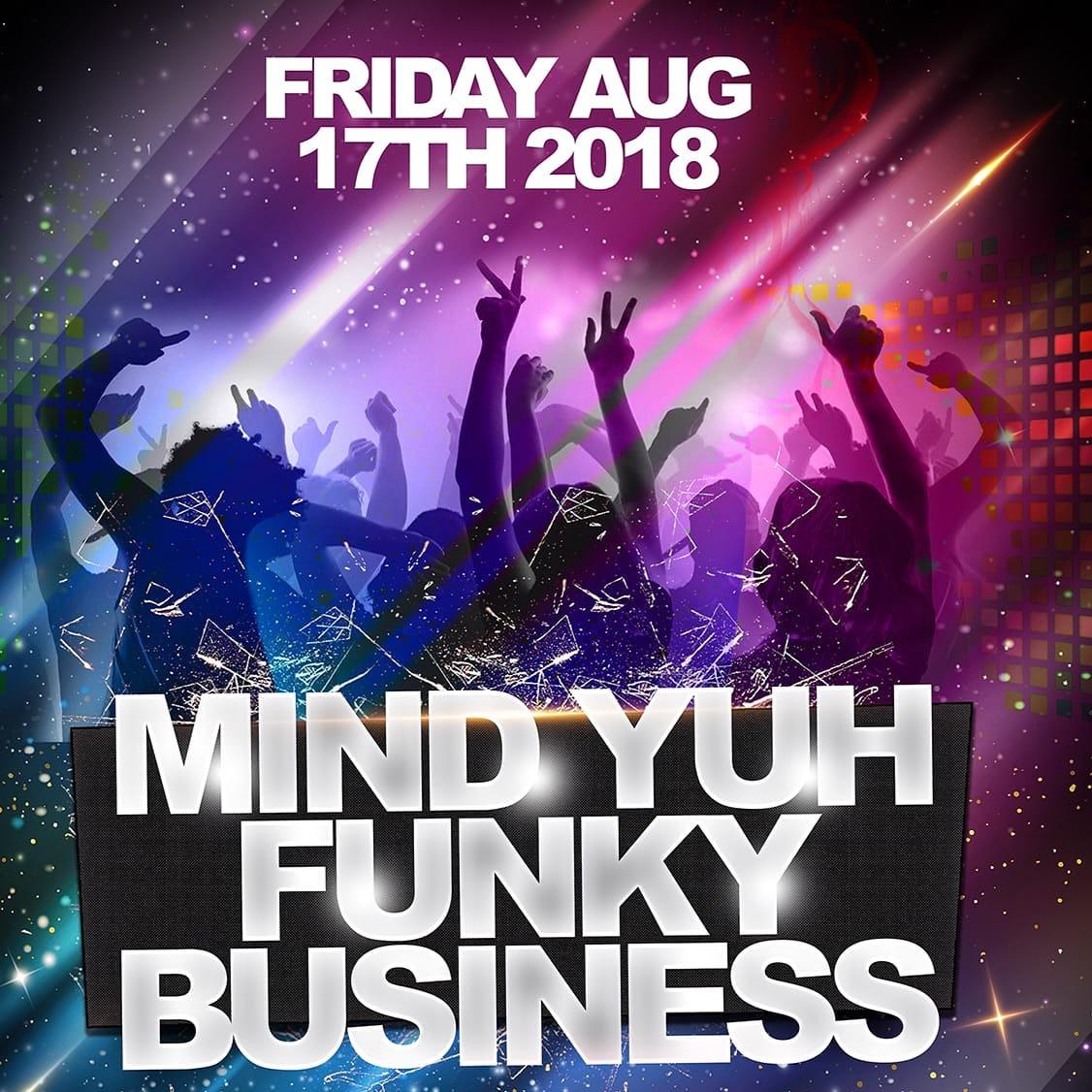 Fabulous Fridays Presents Funky Business Calypso Hut