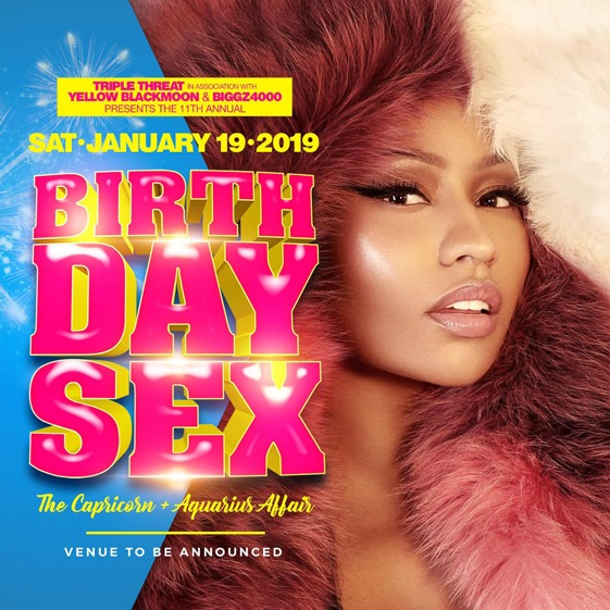 Triple Threat--Birthday Sex--The Capricorn + Aquarius Affair