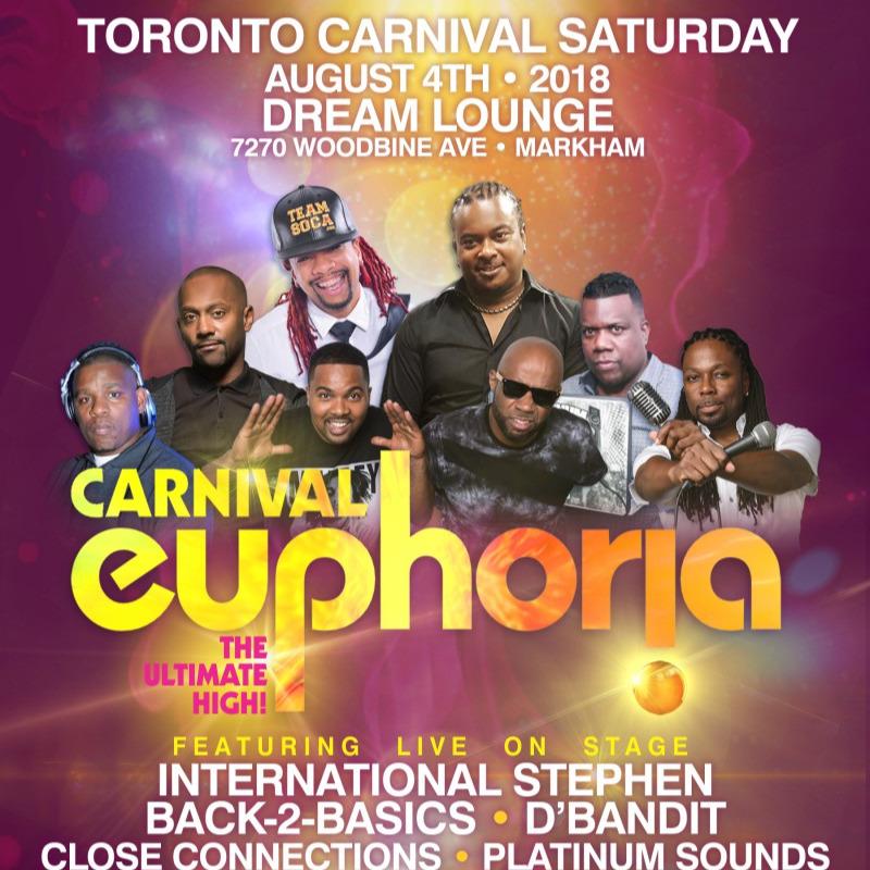 CARNIVAL EUPHORIA - Toronto Carnival Saturday