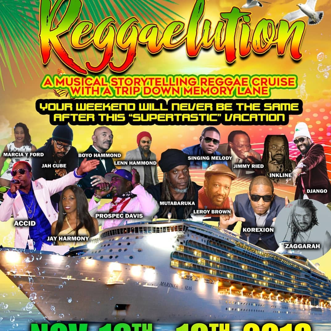 Reggaelution Cruise 2018| At Miami | Buy Tickets