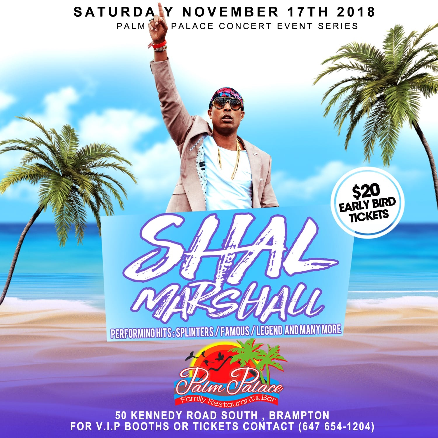 SHAL MARSHALL LIVE IN CONCERT