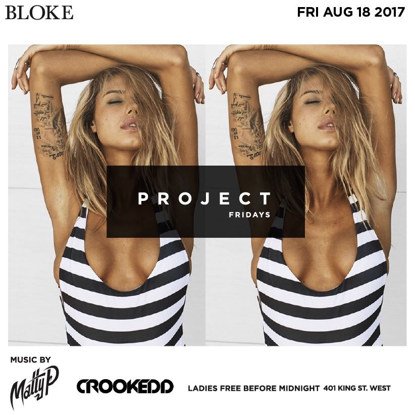 Project Fridays at Bloke