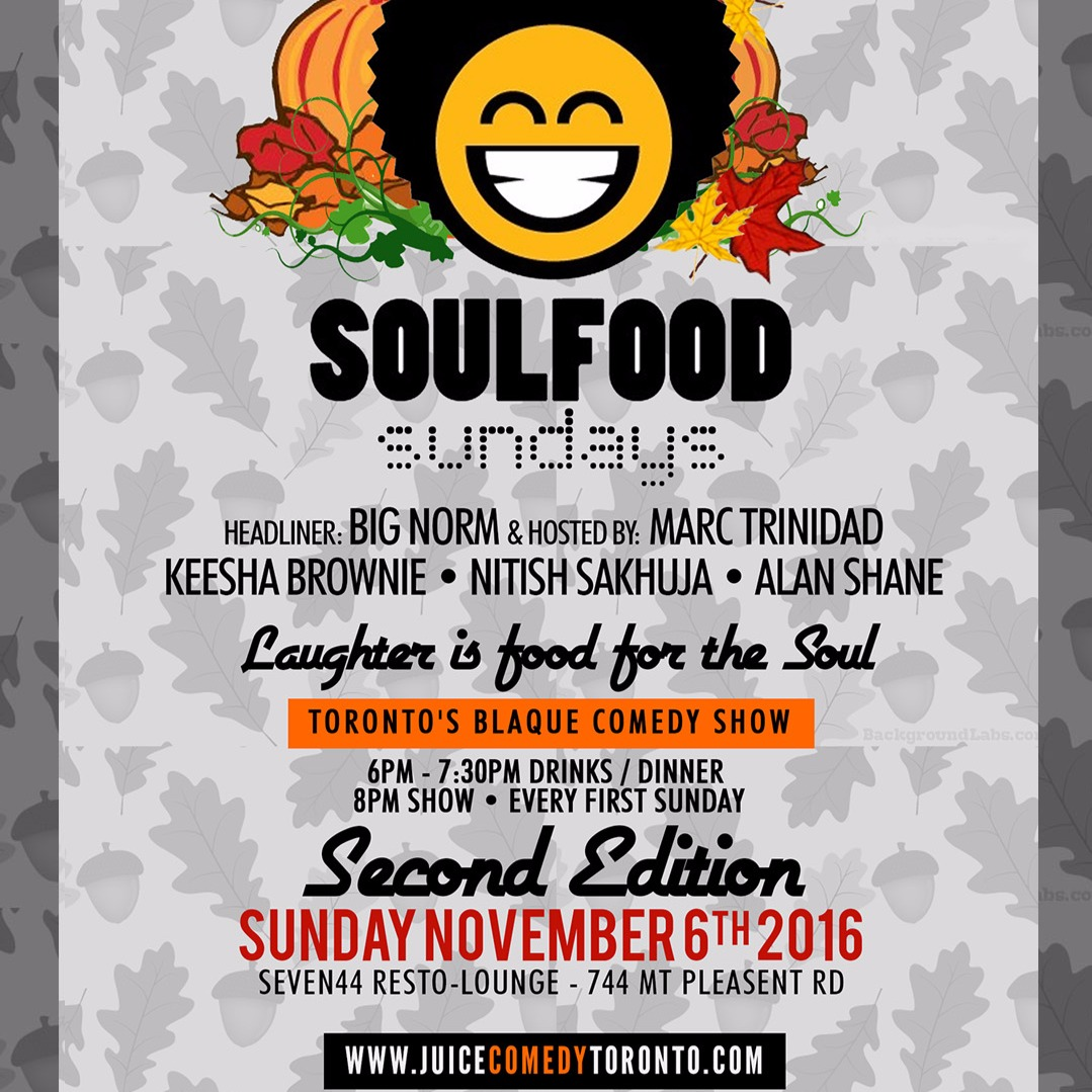 Soul Food Sundays (November)