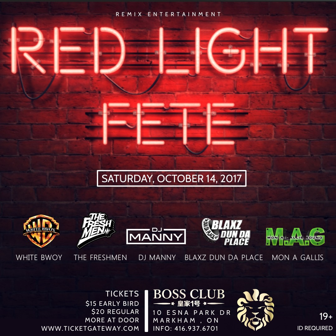 RED LIGHT FETE
