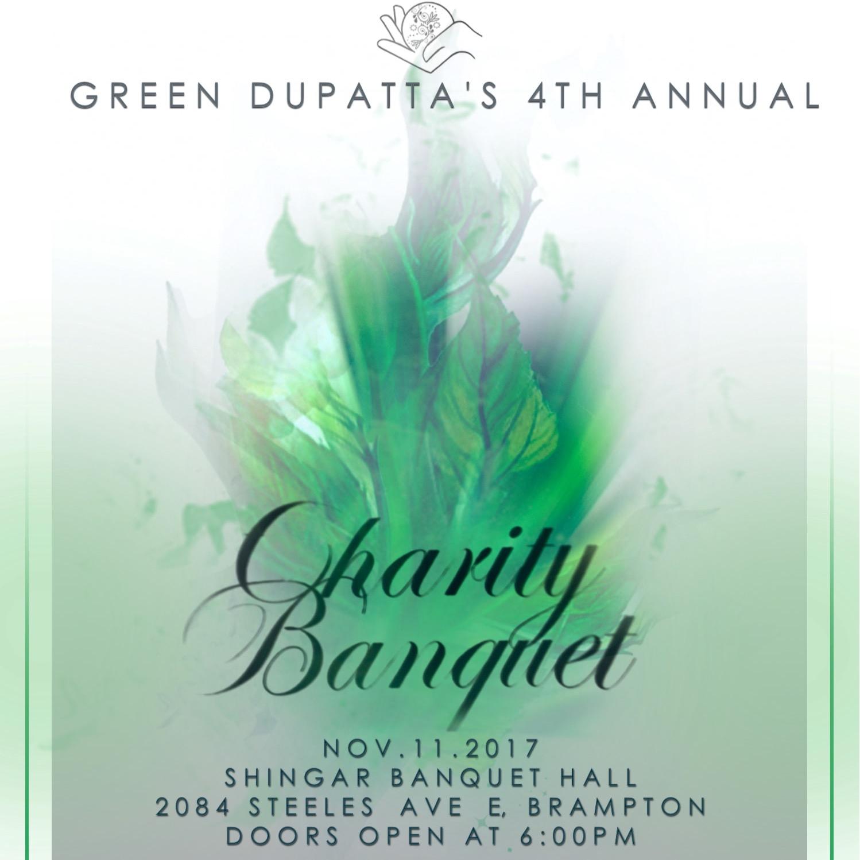 Green Dupatta's 4th Annual Charity Banquet