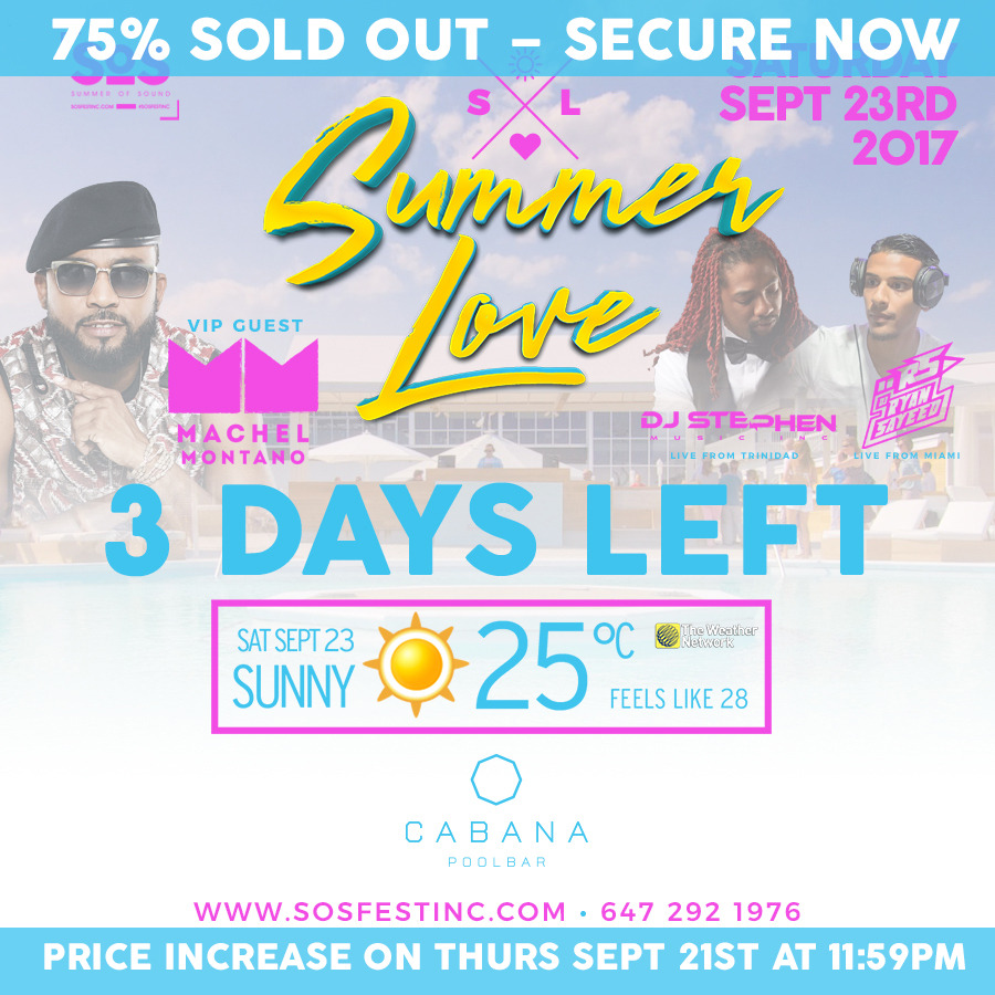 SUMMER LOVE WITH VIP GUEST MACHEL MONTANO | SOS FEST | SUMMER CLOSING PARTY