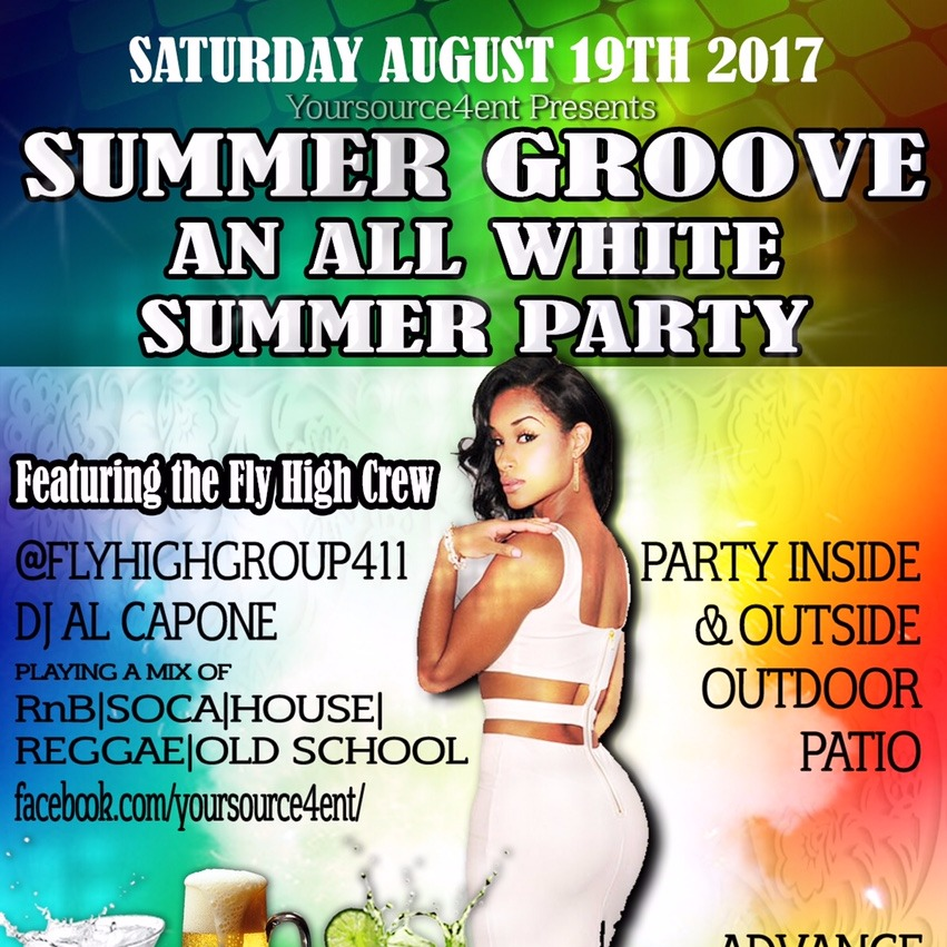 SUMMER GROOVE - AN ALL WHITE SUMMER PARTY