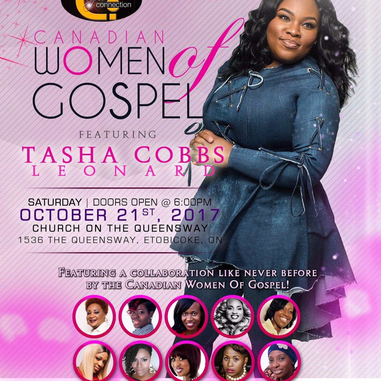 Tasha Cobbs Live in Toronto | Women Of Gospel Canada