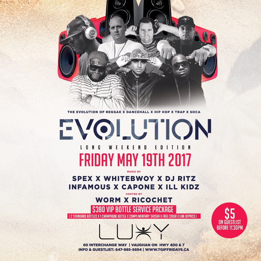 TGIF FRIDAYS - EVOLUTION