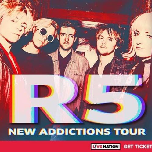 R5 - New Addictions Tour at The Phoenix Concert Theatre