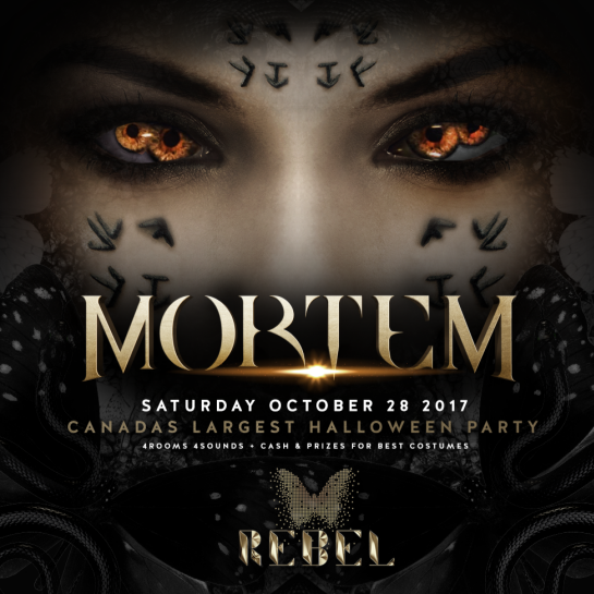 Mortem Halloween at Rebel